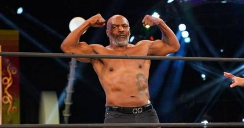 [VIDEO] Mike Tyson regresa al ring y hace un tremendo K.O.
